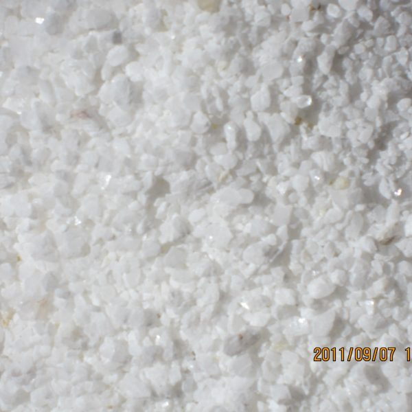 White stone particle