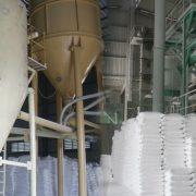 Kho chứa hàng của Cty hóa chất Minh Đức